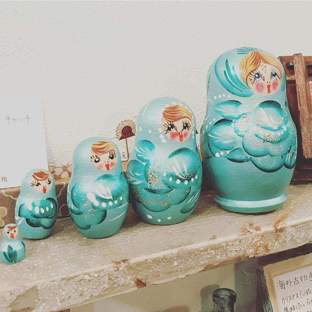 マトリョーシカ祭開催中ですマトリョーシカ雑貨を販売しています#tsukanosha #つかのしゃ #束の舎 #三鷹 #雑貨 #マトリョーシカ #マト #ロシア雑貨 #祭 #brocca #ブロッカ #ブロカント - from Instagram