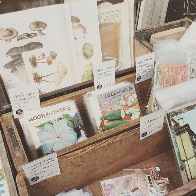 open at Monotsukuri Yokocho#束の舎 #tsukanosha #つかのしゃ #nohsha #brocca #brocante #東京 #雑貨 #ブロカント #古道具 #マーケット #market #stamp #切手 #古切手 #紙もの #素敵 #古いもの #アジ紙 #味紙 #scrapbook #スクラップブッキング #コラージュ #collage #oldpaper #vintage #ビンテージ#ものづくり横丁 - from Instagram